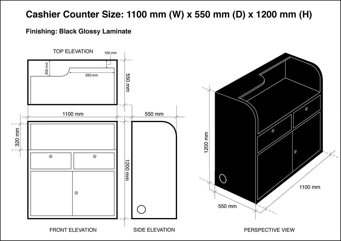 Countertop Standard Height Bar Height Or Counter Height
